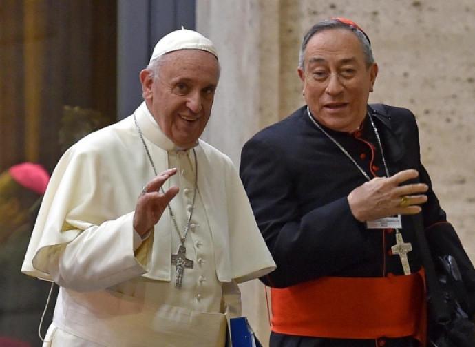 Papa Francesco e il cardinal Maradiaga