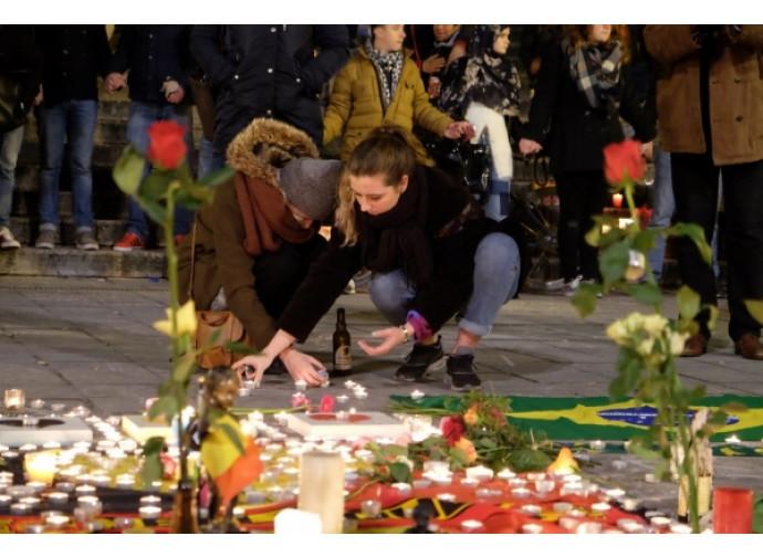 Cordoglio a Bruxelles dopo la strage