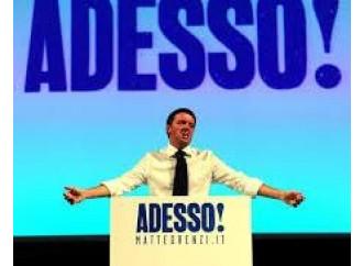 Renzi, se questo è il nuovo che avanza...