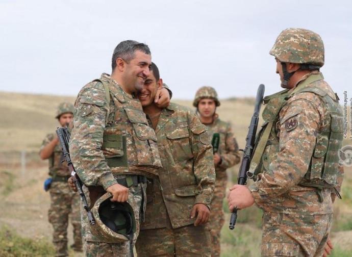 L'unità dell'esercito armeno