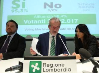 Il referendum pesa, il treno dell'autonomia è partito