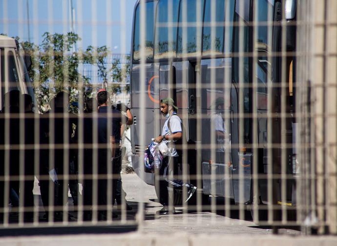 Trasferimento immigrati da Lampedusa