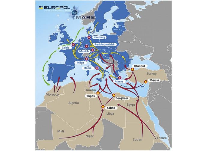 Rotte dell'emigrazione