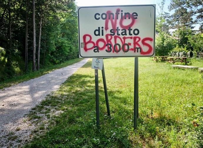 Confine tra Italia e Slovenia
