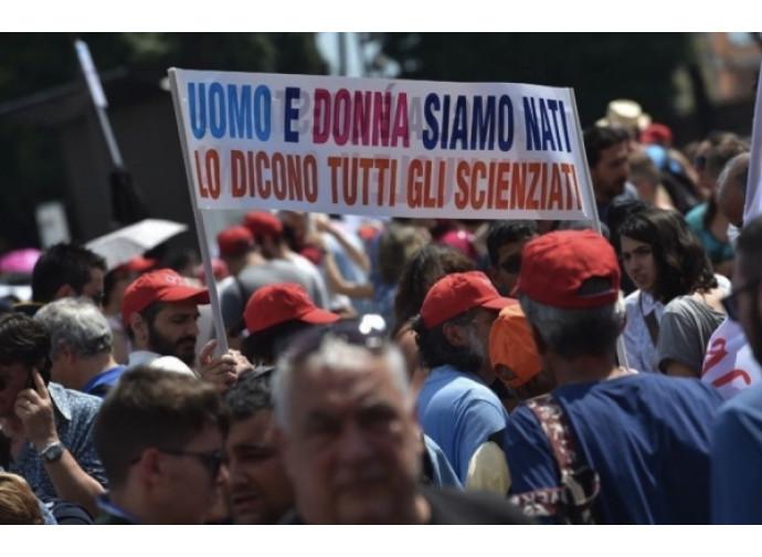 La manifestazione del 20 giugno a Roma