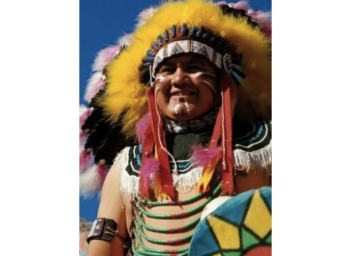 Pellerossa della tribù dei Cherokee