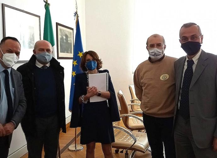 L'incontro tra il ministro Bonetti e l'ANFN