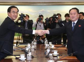 Una breve pace olimpica fra Nord e Sud Corea