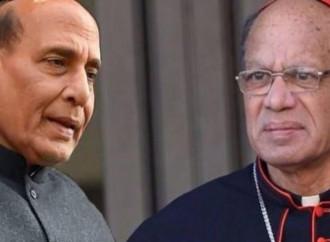 Il cardinale Gracias ha incontrato il ministro dell'interno Singh dopo le polemiche per la lettera parstolare di monsignor Coutu