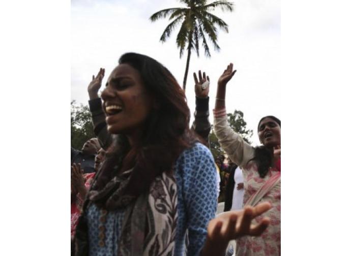 Bangalore, messa di solidarietà