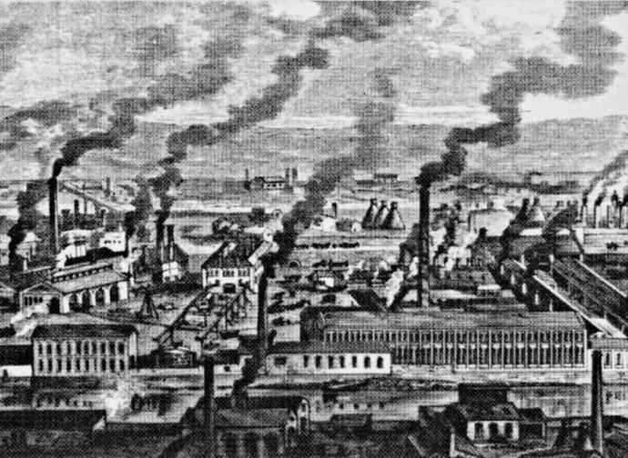 Uno dei primi poli industriali inglesi