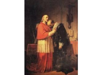 L'Innominato incontra il cardinale Federigo Borromeo