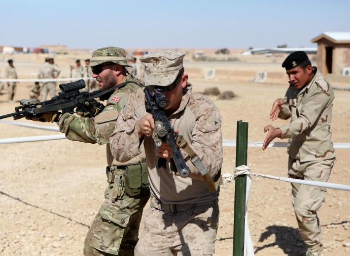 Addestramento americano di soldati iracheni