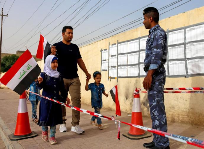 Iracheni al voto