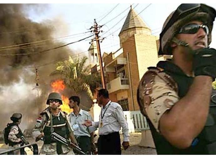 Attentati contro i cristiani in Iraq