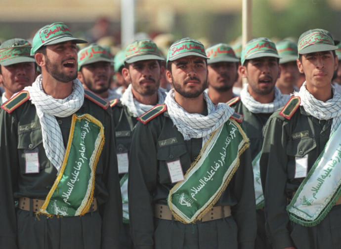 Guardie Rivoluzionarie iraniane