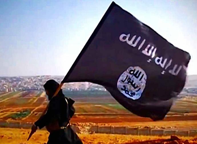 La bandiera nera dell'Isis