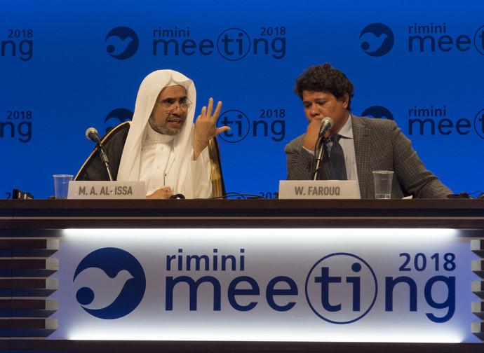 Al Issa e Farouq al Meeting di Rimini