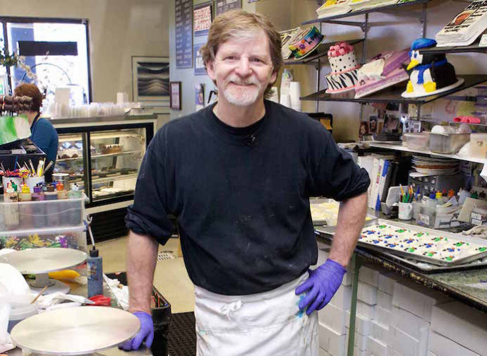 Jack Philips al Masterpiece Cakeshop