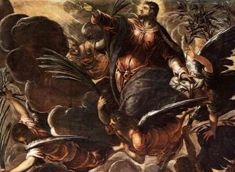 Tintoretto e l'Ascensione, inizia la missione della Chiesa