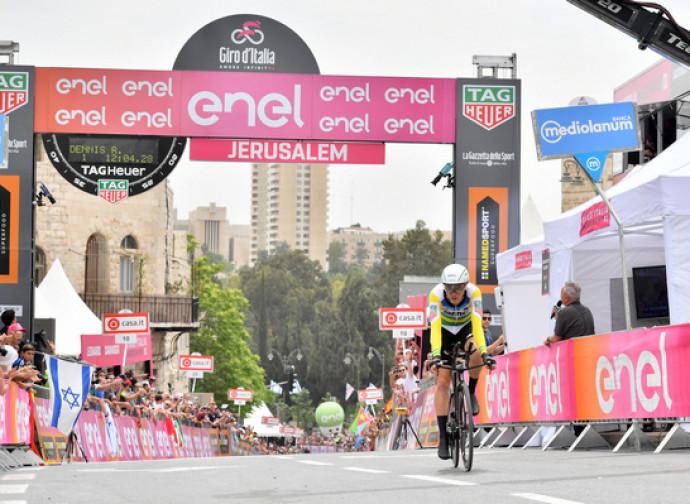 Giro d'Italia partito da Gerusalemme con una cronometro