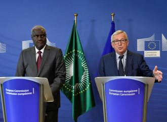 Mahmat (UA) e Juncker (UE)