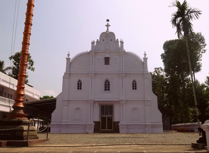 La cattedrale di San Tommaso a Kadampanad, Kerala