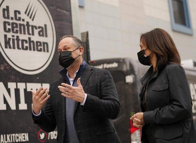 Doug Emhoff e Kamala Harris