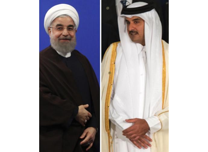 Rouhani e Al Thani