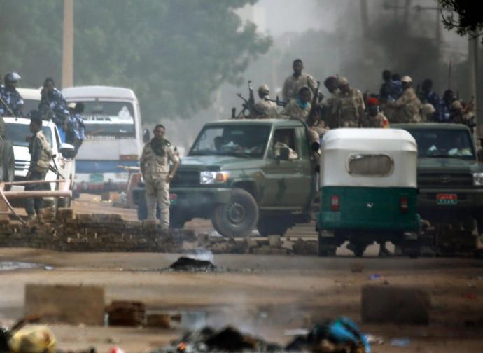Scontri a Khartoum