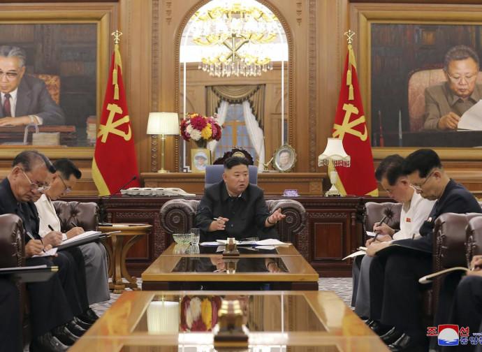 Corea del Nord, riunione al vertice del Partito