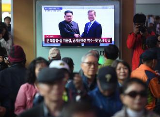 Incontro fra i leader coreani. Prevale la voglia di vivere