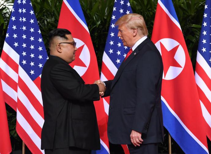 Lo storico incontro fra Kim Jong-un e Donald Trump