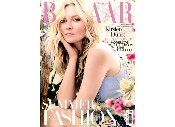 Kirsten Dunst su Harper's Bazaar