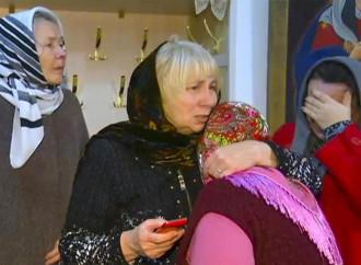 Dagestan, parenti delle vittime dell'attentato