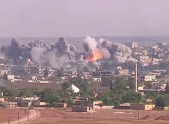 Kobane, durante l'assedio del 2014