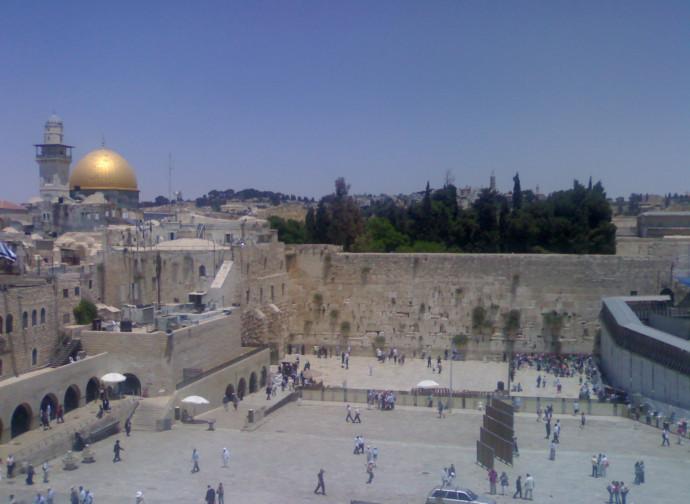 Muro Occidentale e Spianata delle Moschee