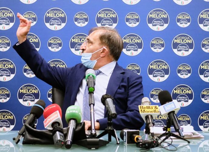 La Russa, conferenza stampa su nomine Rai