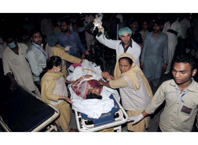 La strage di Lahore in Pakistan