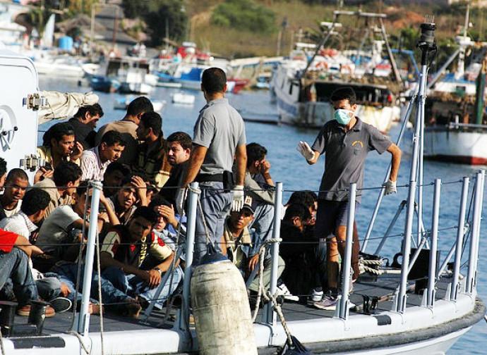 Lampedusa, un vecchio sbarco