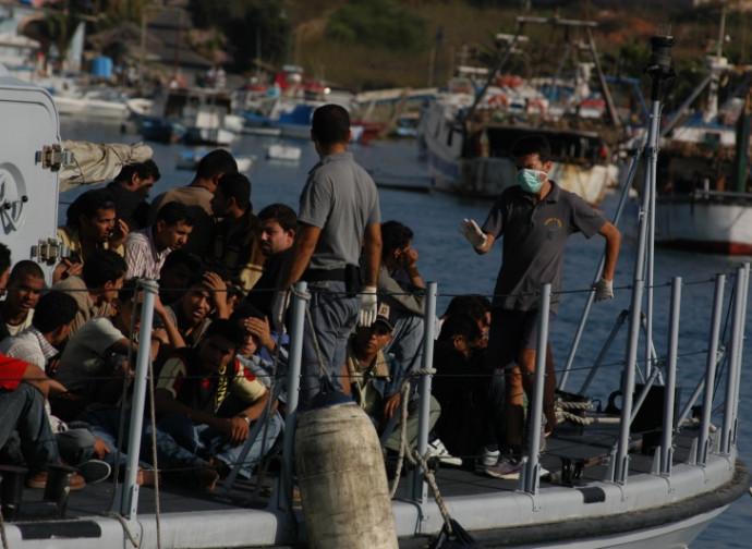 Sbarco a Lampedusa (foto di repertorio)