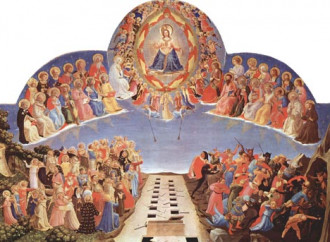 Il Giudizio del Beato Angelico dove c'è chi prega per noi