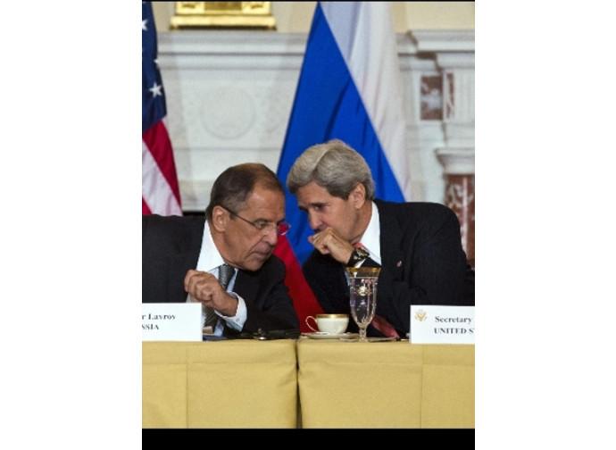 Kerry e Lavrov