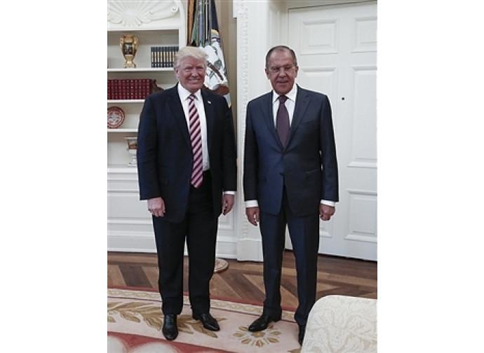 Lavrov e Trump