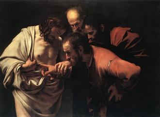 Caravaggio e san Tommaso, la piaga testimonia il Risorto