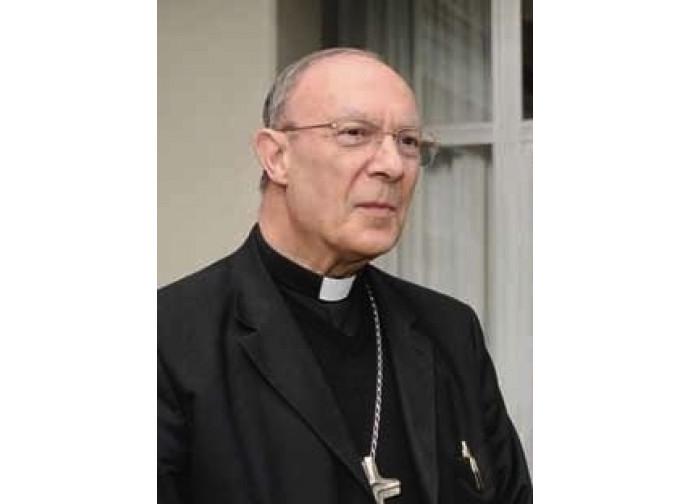Il cardinale André-Joseph Leonard