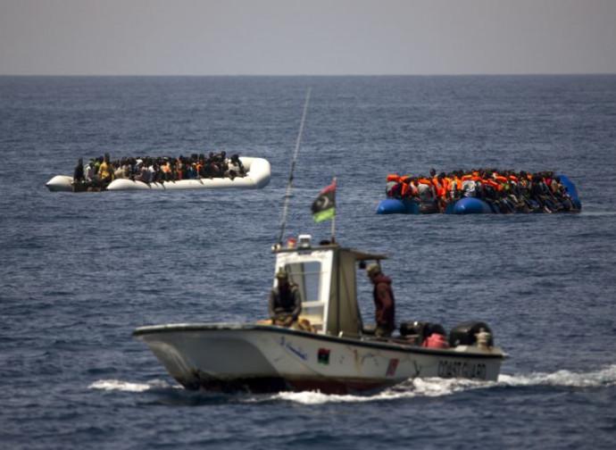 Libia, barconi fermati dalla guardia costiera
