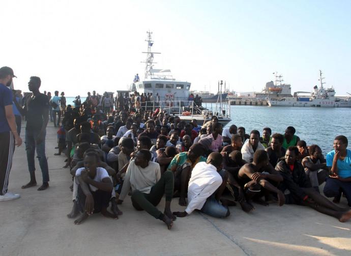 Emigranti dalla Libia