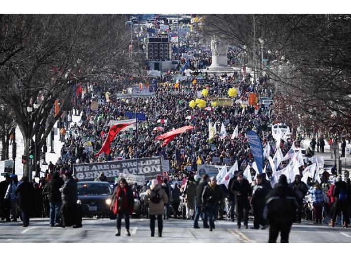 La March for Life dell'anno scorso