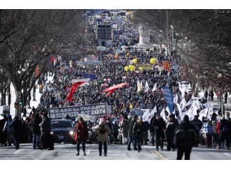 #WhyWeMarch, la più grande marcia per la vita